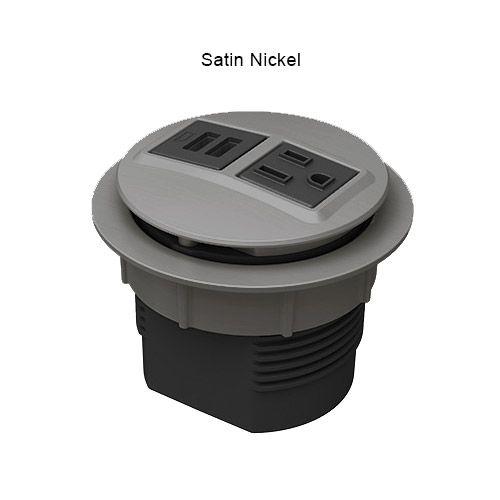 Node Power Data Desk Grommet Outlet Cable Cord