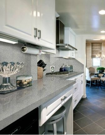 Home Decor Idea Starry Gray White Quartz Countertops From Leadstone The Quartz Slabs Manufacturers S Quartz
