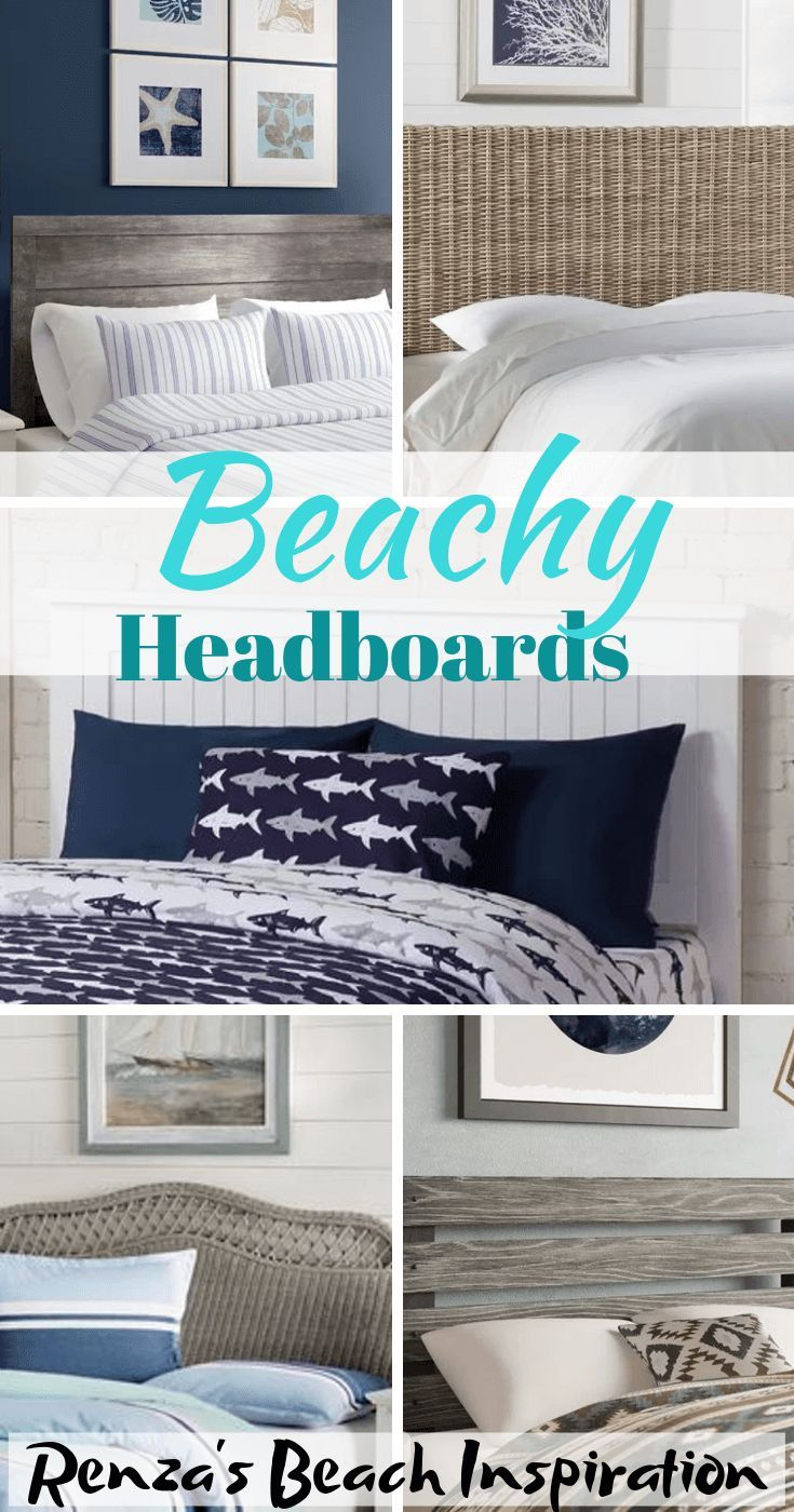 Beach Headboard Ideas for Coastal Bedrooms,  #Beach #beachhousedecorcoastalstyle #Bedrooms #C... #coastalbedrooms