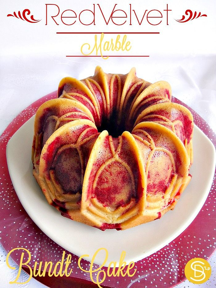 Red Velvet Marble Bundt Cake Bundt De Terciopelo Rojo