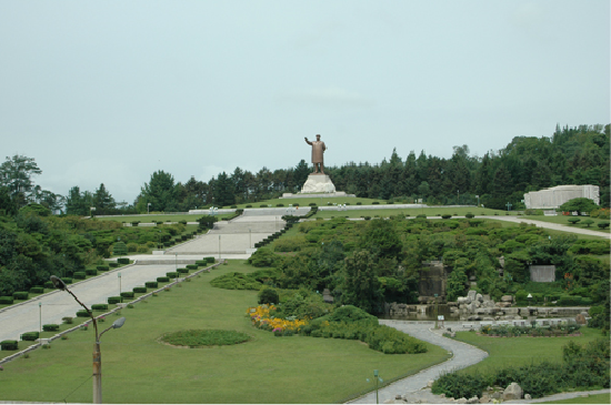 Fertilizer industry plant in Hamhung