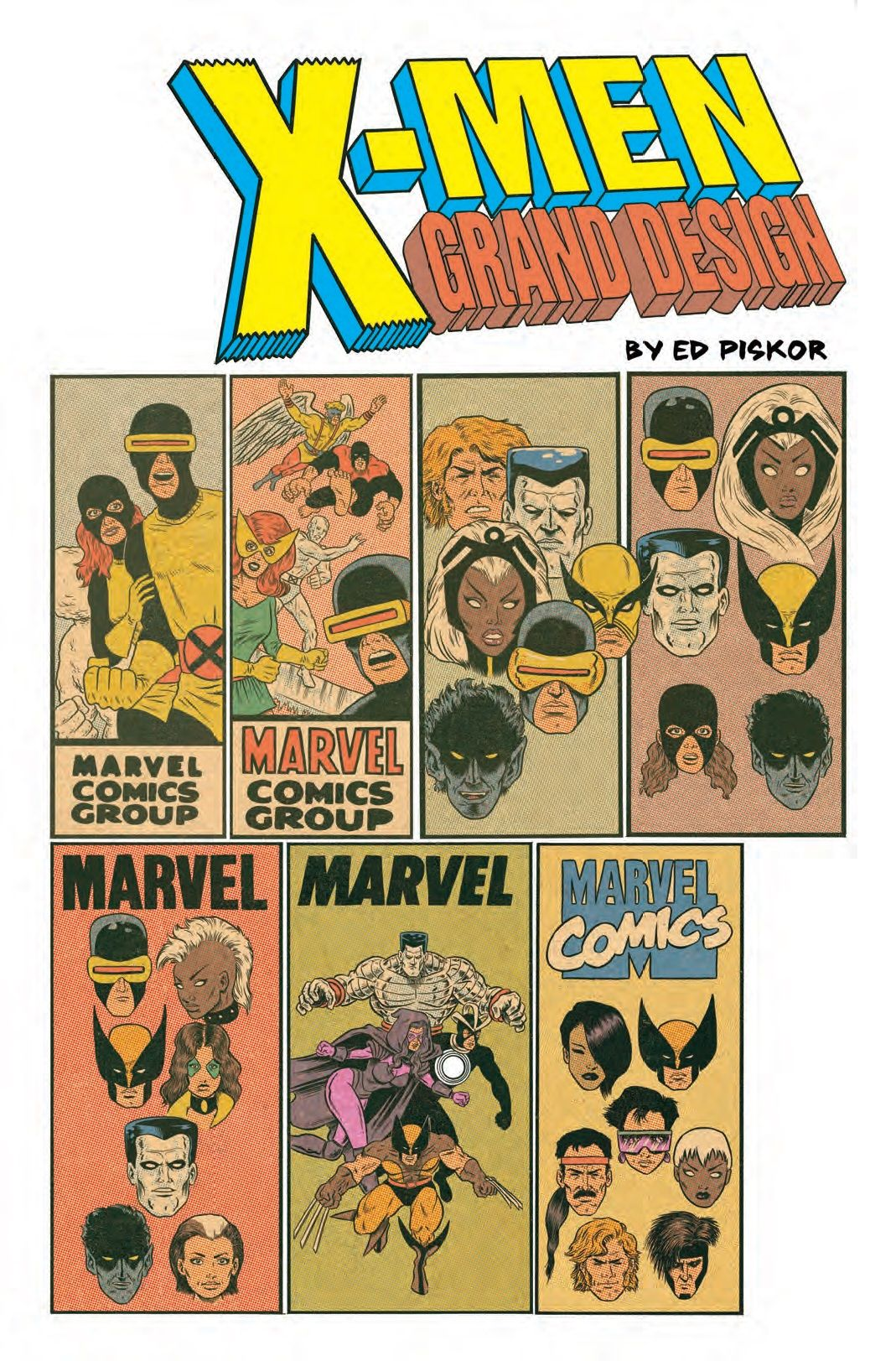 X Men Origins Retold In Preview Of Ed Piskor S X Men Grand Design Grand Designs Comics Marvel Comics