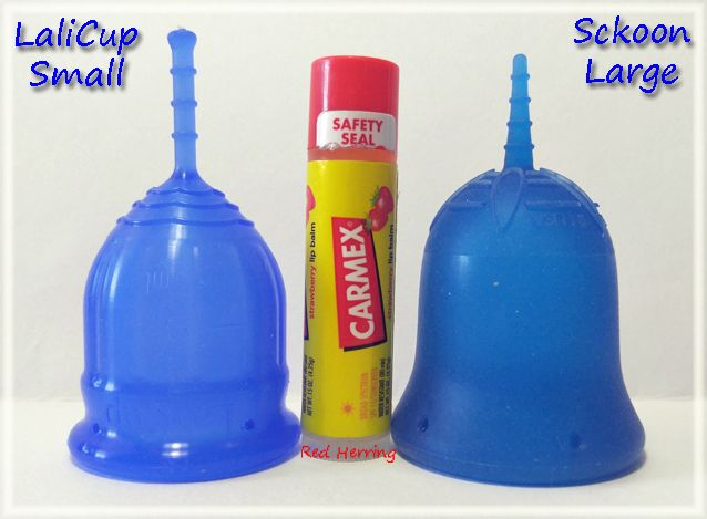 Lalicup Small Vs Sckoon Large Menstrualcup Periodpositive