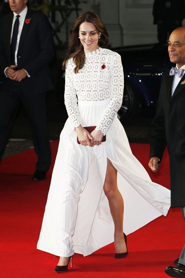 3575165648 Kate Middleton's Stunning Red Carpet Dress Sold Out Immediately ...