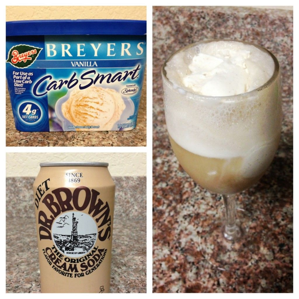 Low Carb Cream Soda Float - The Low Carb Diet
