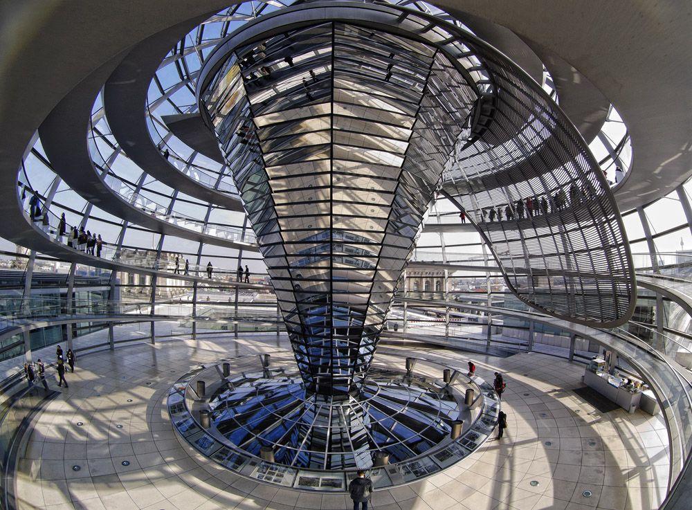 La cupula del Bundestag
