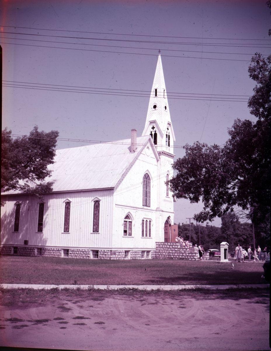 Methodist Church in Caseville - 1954