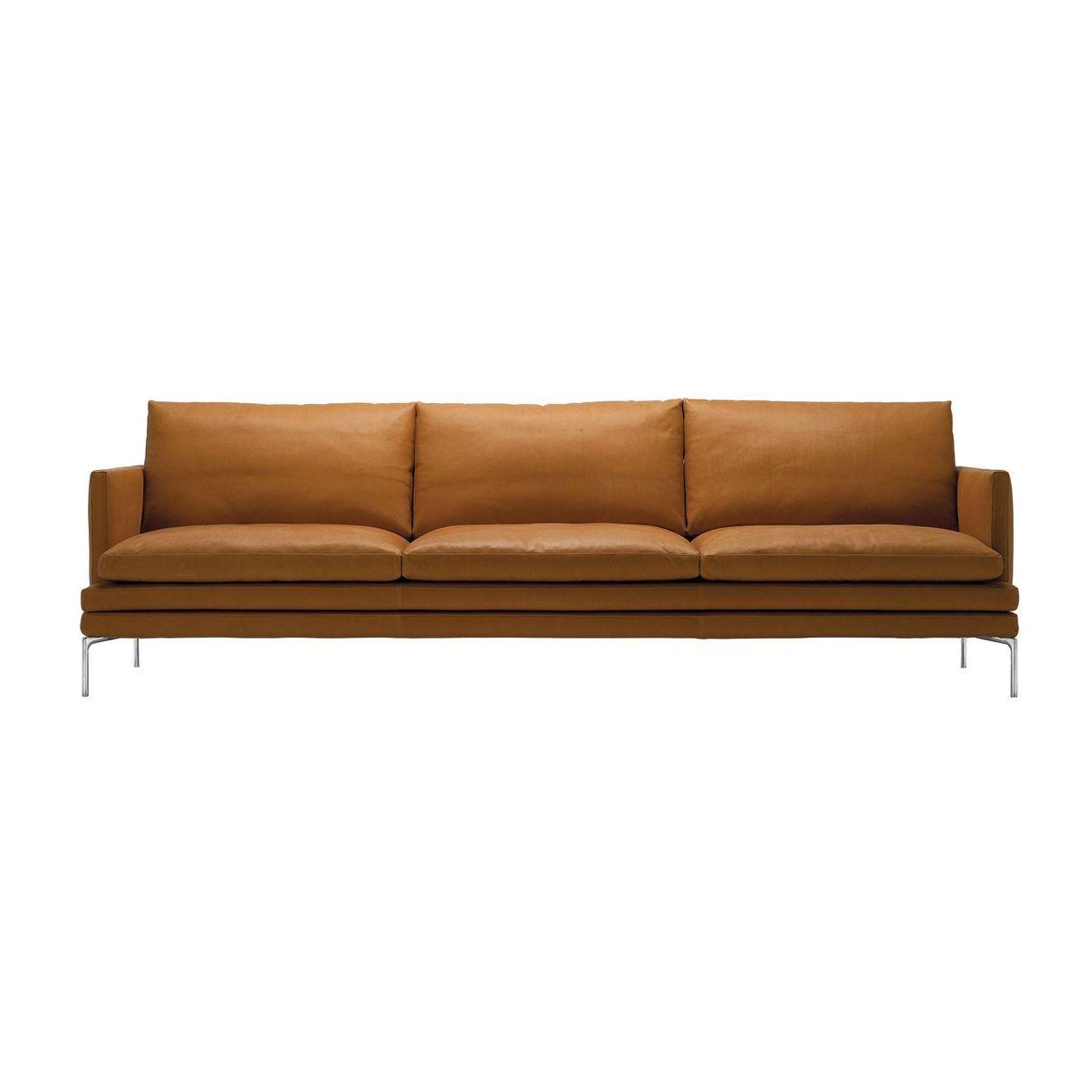William 1330 3 Seater Sofa Leather Sofa Sofa Design Sofa