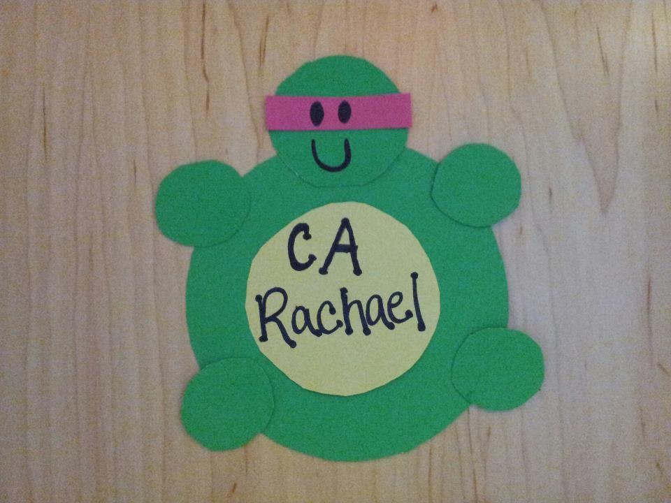 My Teenage Mutant Ninja Turtles Door Decs! RA CA door tags ...