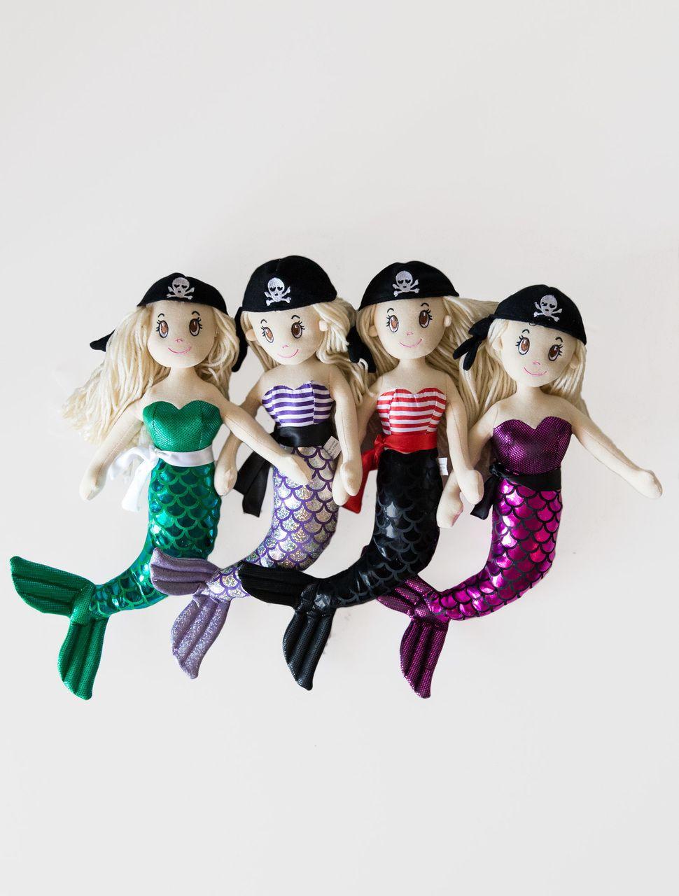 Eagles Beachwear - Pirate Mermaid Plush, $5.99 (http://eaglesbeachwear.net/pirate-mermaid-plush/)