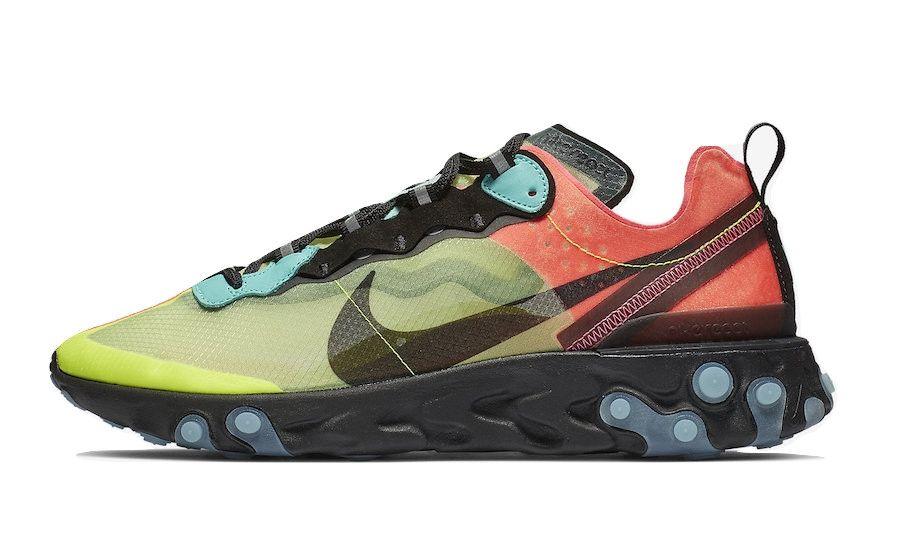 Nike React Element 87 Volt Racer Pink | Nike, Sneakers, Nike