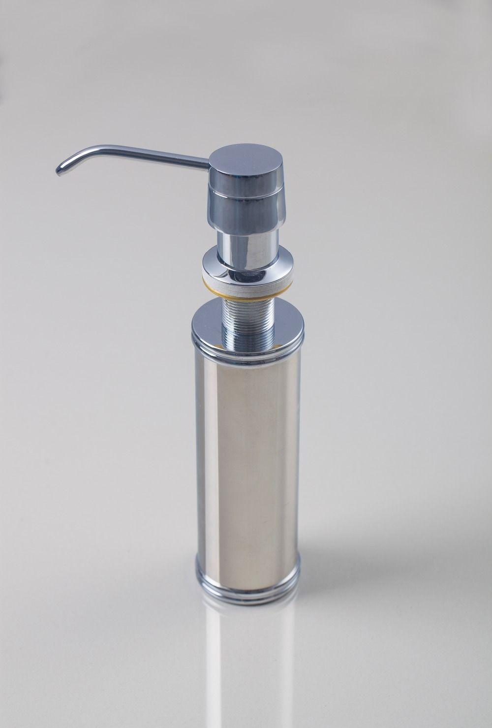 E Pak Hello Bathroom Kitchen Liquid Soap Dispensers Stainless
