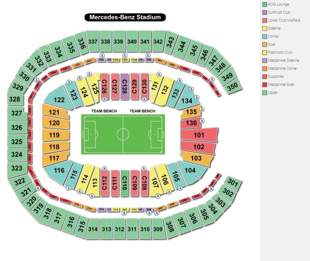 Sec Championship Seating Chart
