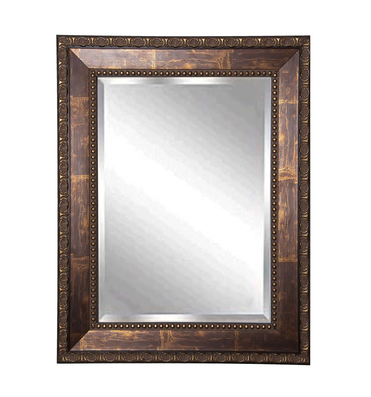 Rayne Mirrors Roman Copper Bronze Wall Mirror 41.5\