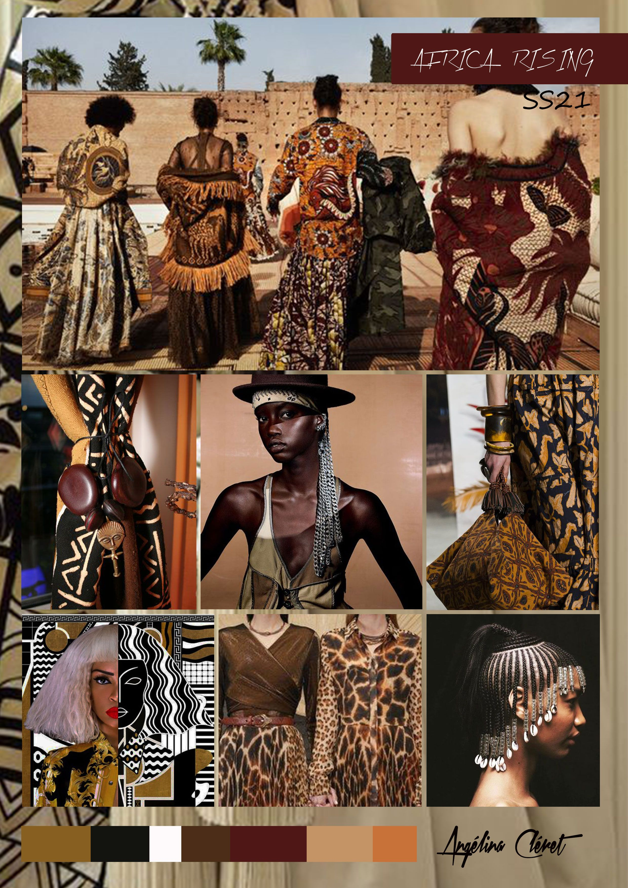 AFRICA RISING SS21 - Fashion & Trend Colors by Angélina ...