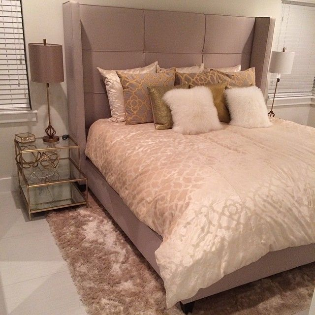 Our Nina Bed, Indochine Rug, And Benito Velvet Bedding