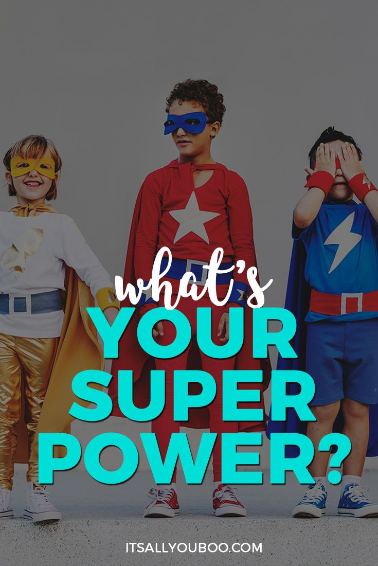 What's Your Superpower? ⚡️ Ya know, the thing about you that makes you magically unique.  That special something only you can offer the world. Your Superpower = your talent + your passion + your action. Find your talent. Unlock your passions. Take action. Discover yours today with these 20 tips.