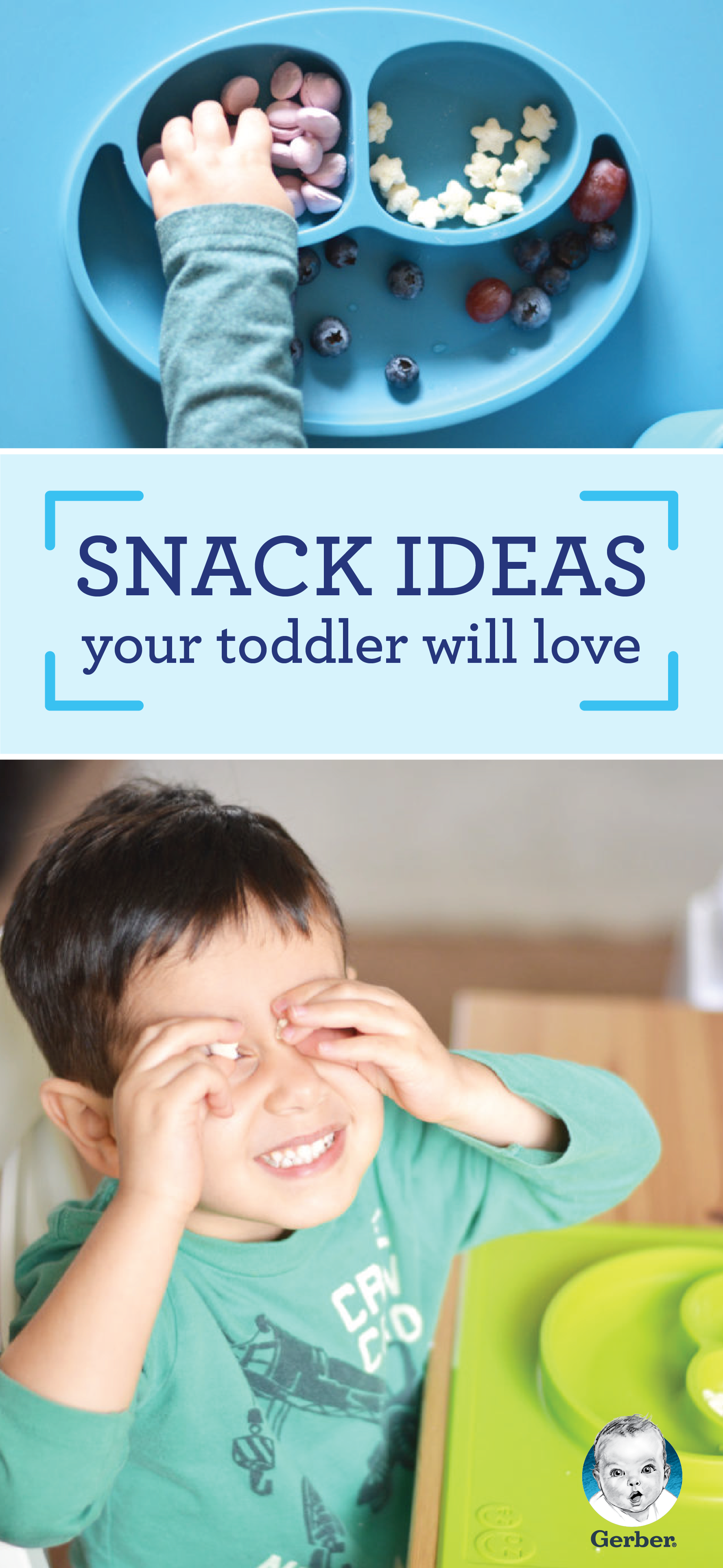 Idea And Kids With Special Dietary Needs >> Gerber Toddler Snacks Are Made With Your Toddler S