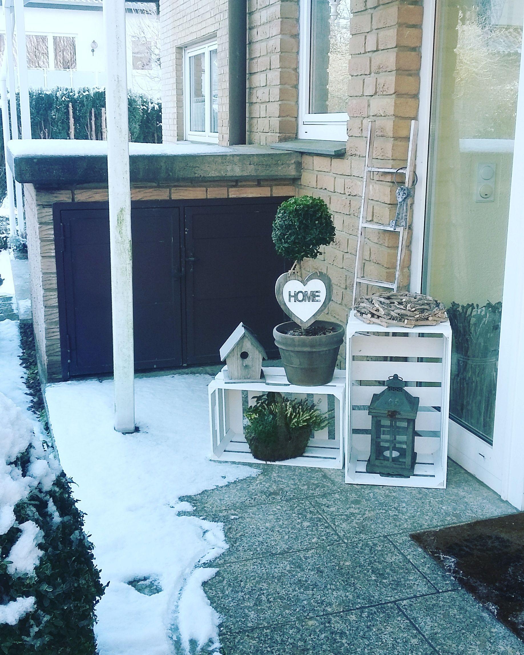 Haustür Deko meine winterliche haustürdeko meine ideen
