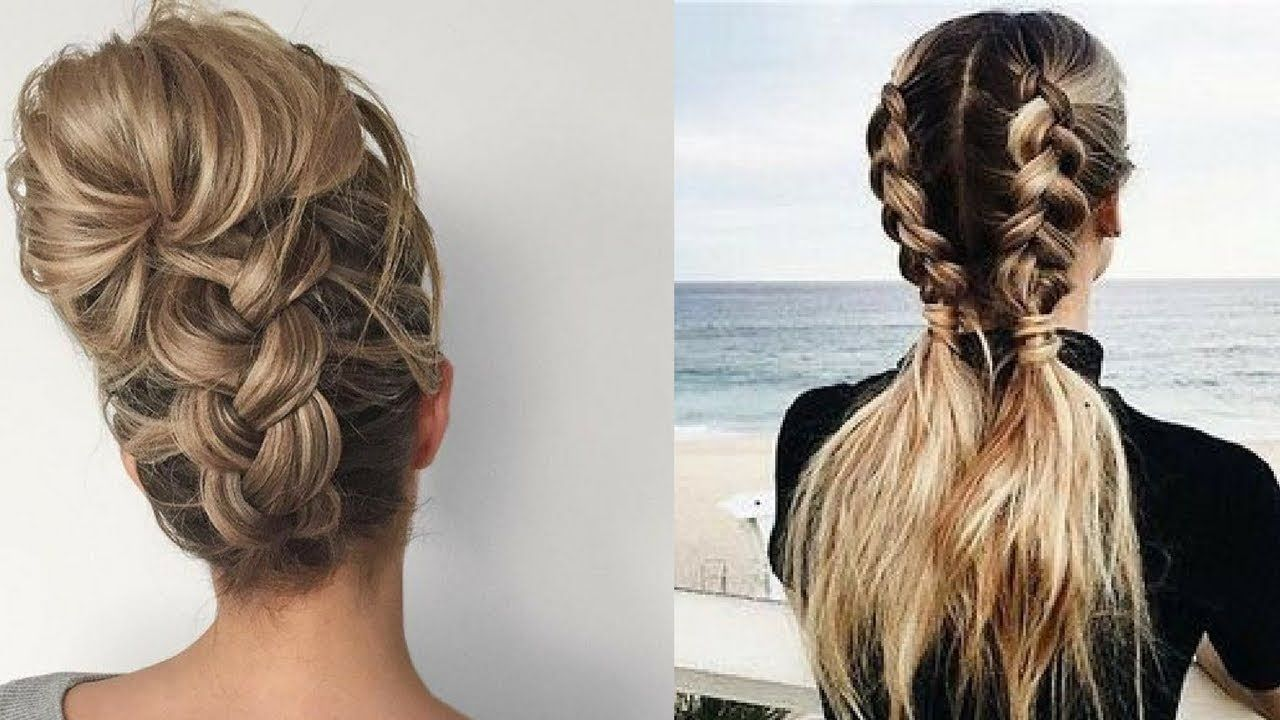 Cute Easy Everyday Hairstyles Quick Hair Tutorial 2 Easy Everyday Hairstyles Everyday Hairstyles Quick Hairstyles