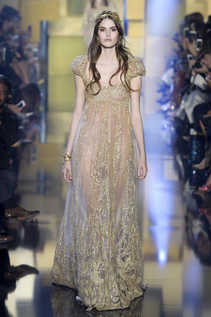 GLAMM moda e beleza: Elie Saab Couture Outono-Inverno 2015/16