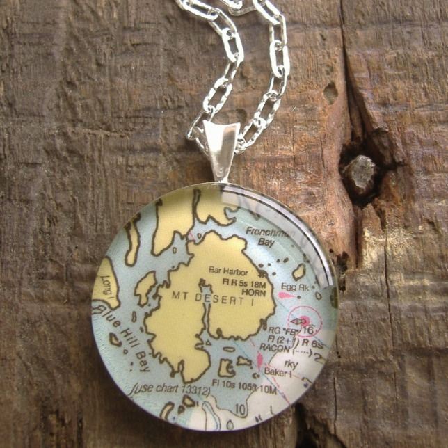 Chart Metalworks Out Of Portland Does Stock And Custom Pieces Like Perfect Charms Your Travels