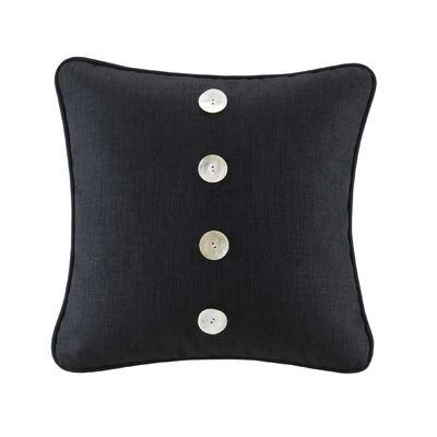 Hampton Hill Calypso 40 Decorative Pillow In Black LIFESTYLE Amazing Cape Cod Decorative Pillows