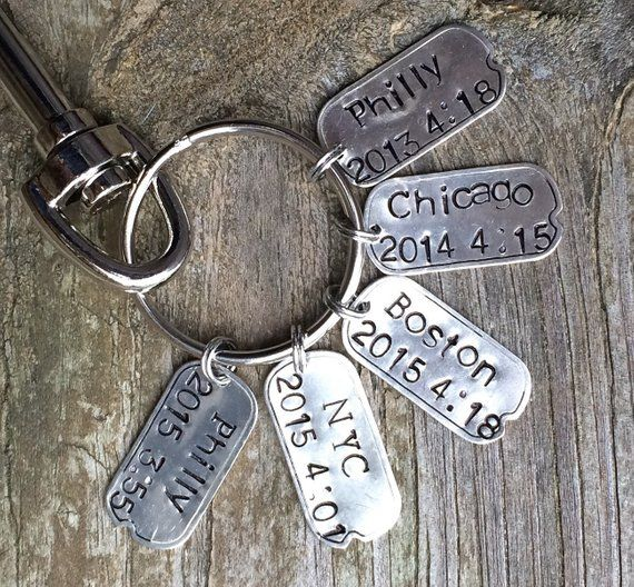 This Is What An Awesome Runner Looks Like Keyring Key Chain Funny Best Marathon