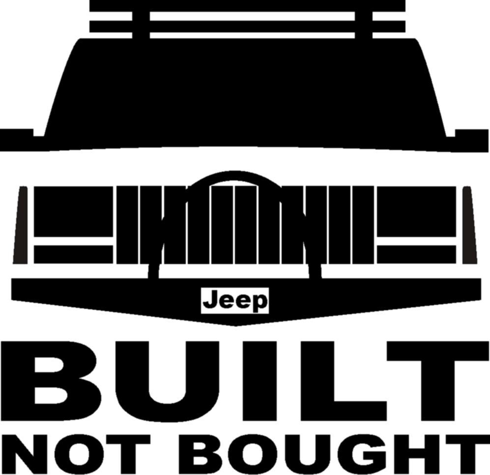 The More I Play With It The Bigger It Gets Funny Jeep Wrangler Vinyl Decal
