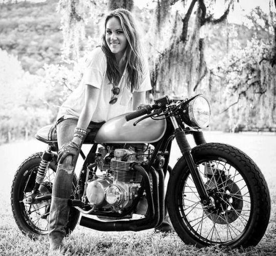 Motorbikin' | Bikes girls, Motorcycle girl, Cafe racer girl