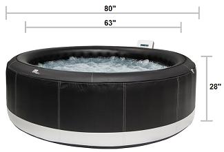 4 Season Inflatable Hot Tub For Winter Dimensions Inflatable Hot Tubs Best Inflatable Hot Tub Hot Tub