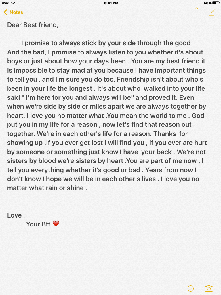 Love Letter To Best Friend : letter, friend, Logan💙, Every, Person, Difficult, Problems, Solved, Known, Only…, Friends, Quotes,, Words, Friend,, Bestest, Friend, Quotes