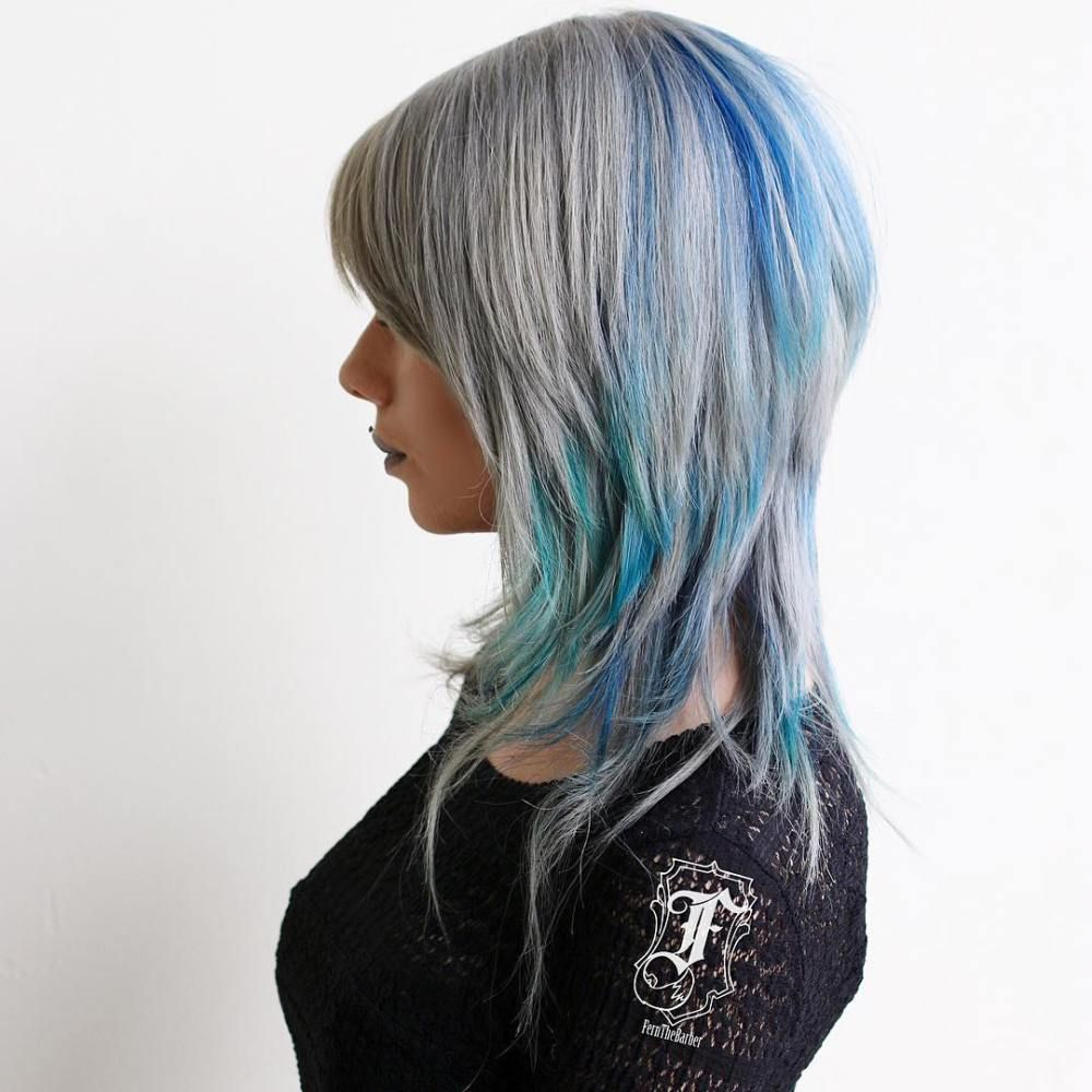 brightest medium layered haircuts to light you up grey