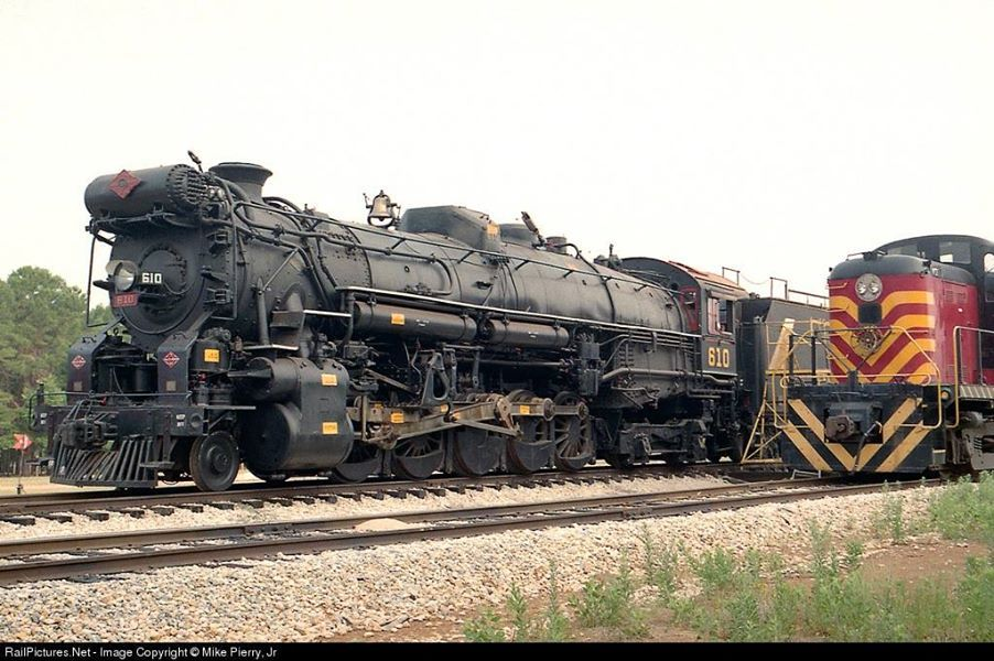 T&P 610 at the Texas State Railroad Museum on May 22
