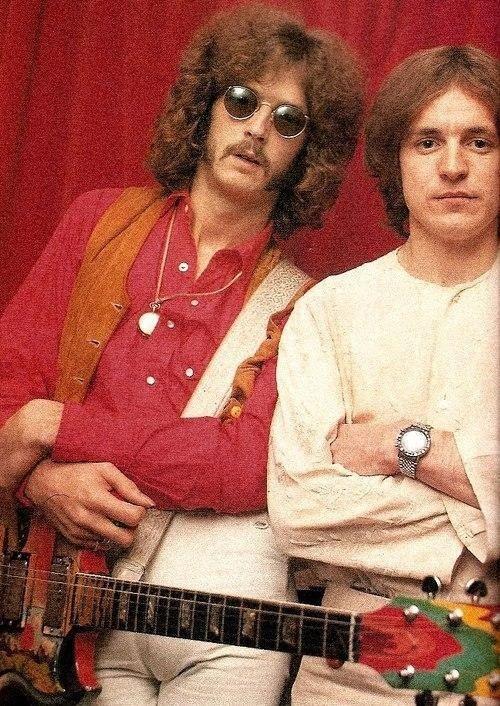 Eric Clapton and Jack Bruce, 1967. #rockgroupcream