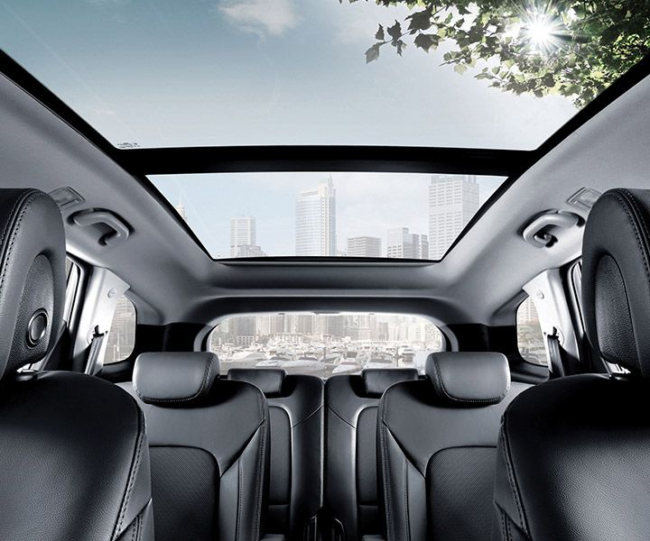 No 3rd Row Didn T Want That But The Panoramic Moonroof Is So Awesome Loving My 2018 Hyundai Santa Fe Ultimate Turbo In Twi Hyundai Hyundai Santa Fe The Row