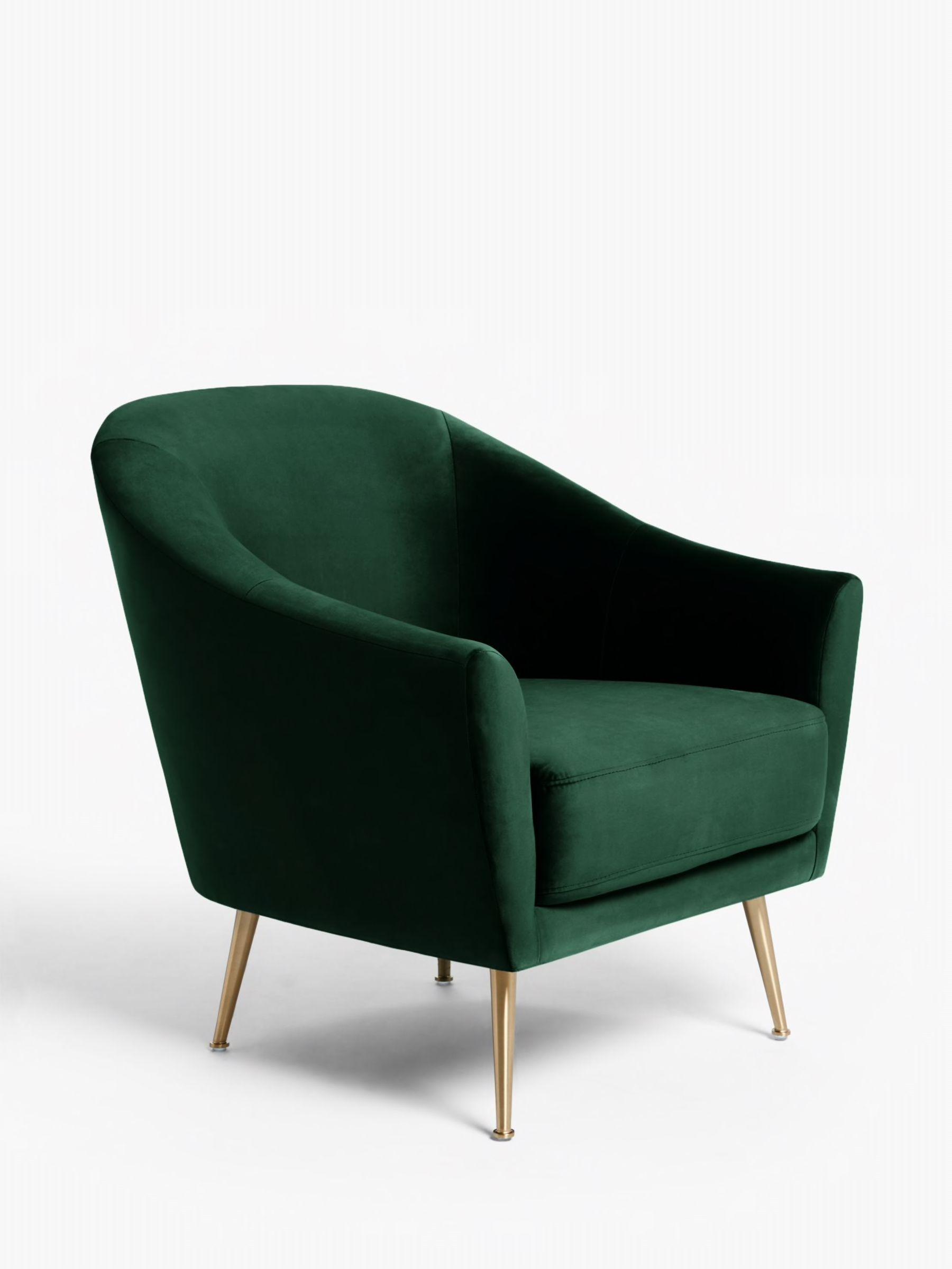 John Lewis & Partners Ellipse Velvet Armchair, Opulence
