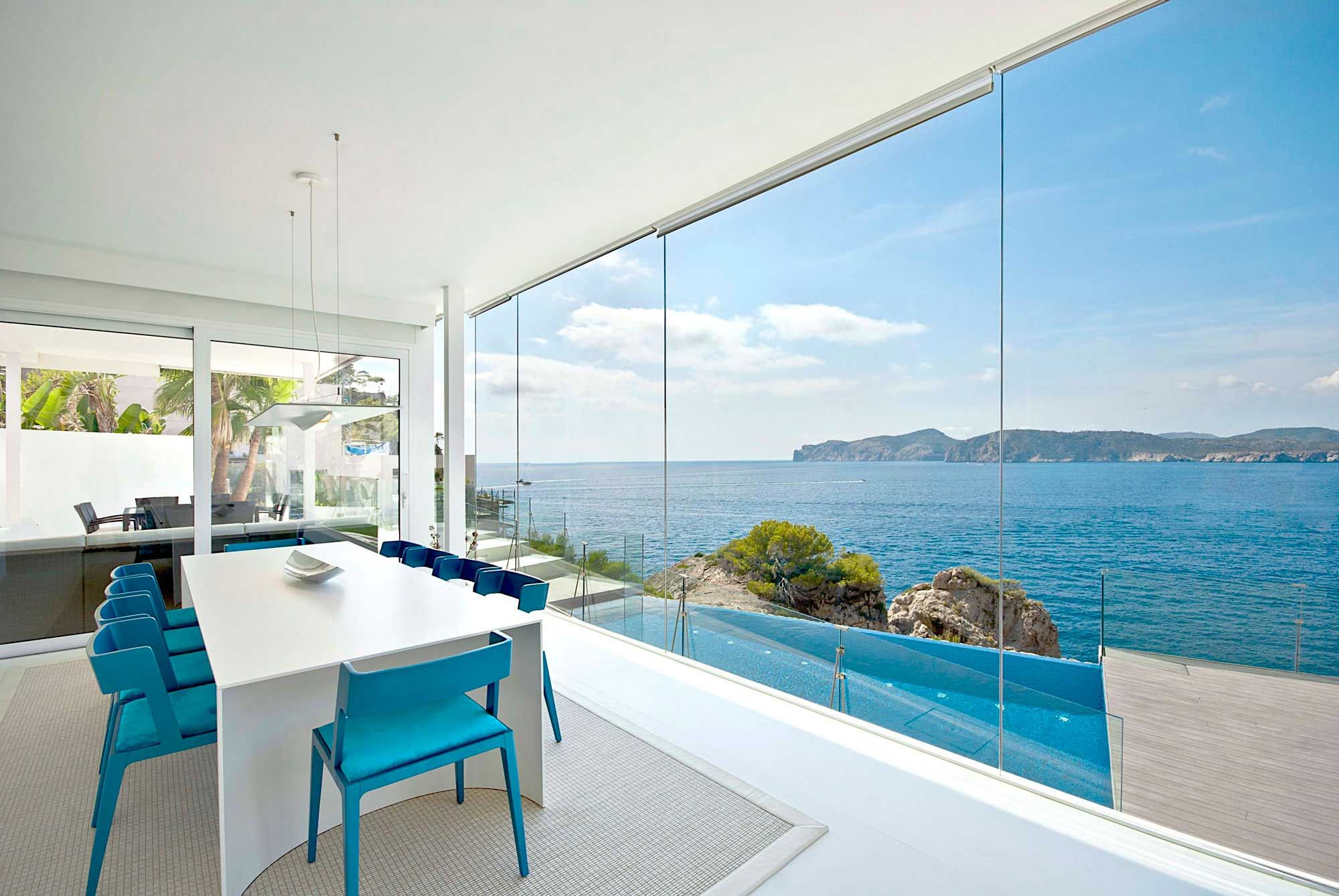 Stunning ultramodern meditetranian villa gold in mallorca http www caandesign