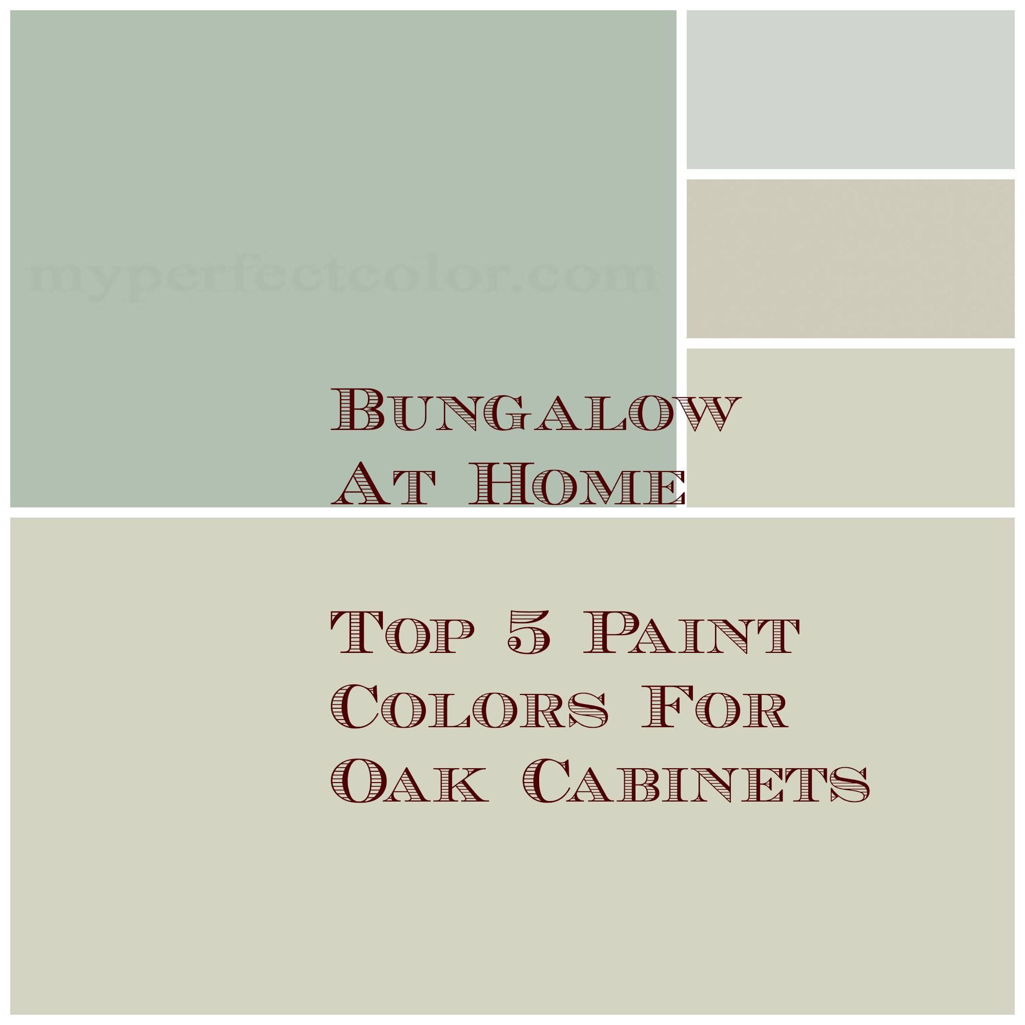 Kitchen Wall Colors With Oak Cabinets Lovely Kitchen Paint: 5 Top Paint Colors For Your Walls If You Have Oak Cabinets