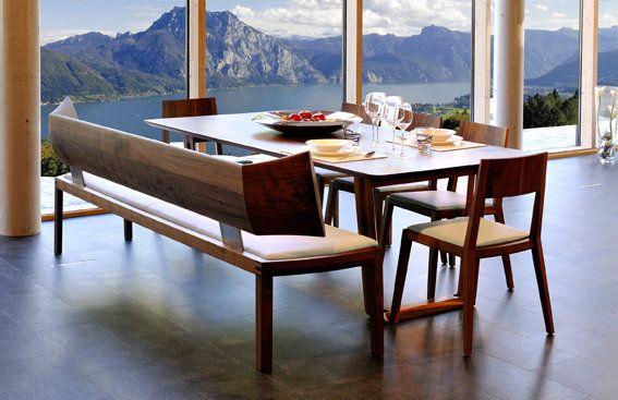 Die Bank Emily und der Sessel Lilly von Wittmann #design - sessel wohnzimmer design