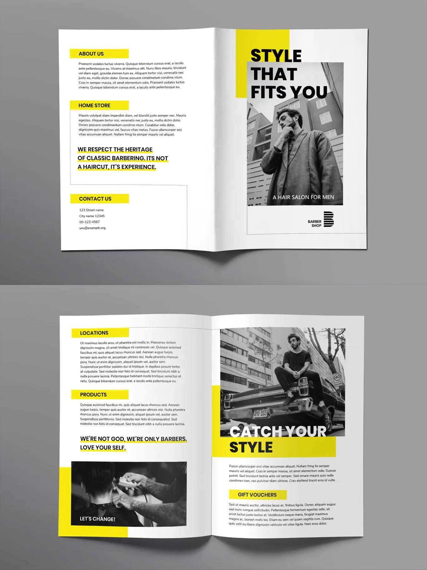 Brochure Bifold by ambergraphics on Creative