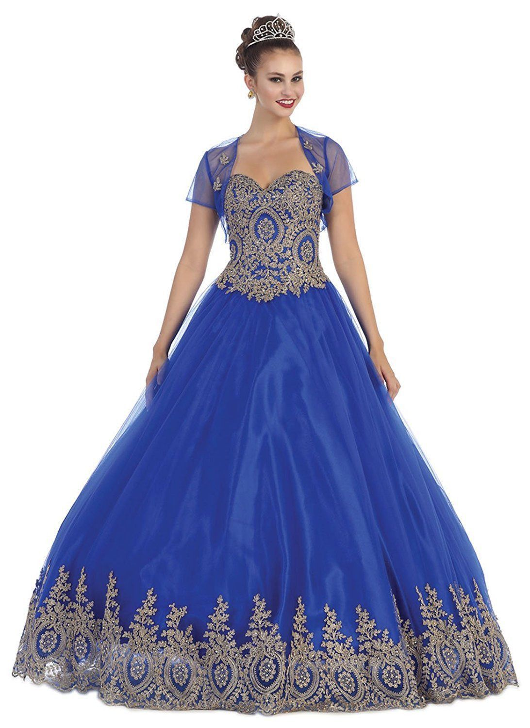 Thedressoutlet long prom dress formal quinceanera ball gown