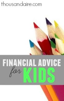 Teach your kids the value of money.Here's what you should let them know for them to understand how to handle their own finances when they grow up.