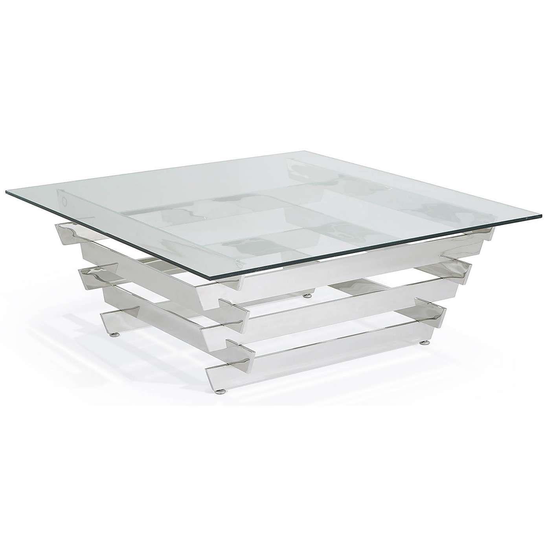 Nova Silver Square Coffee Table Dunelm Table Coffee Table