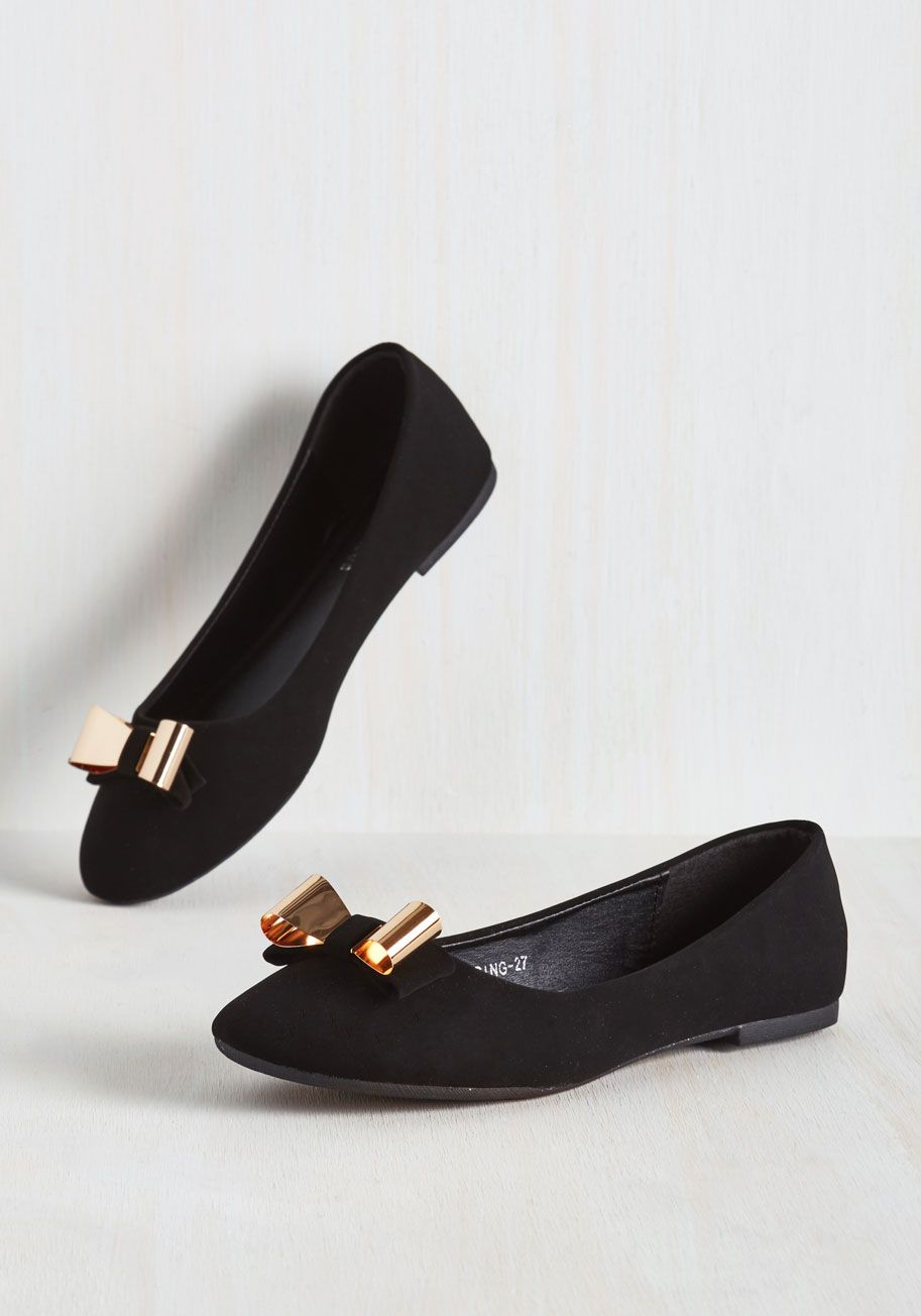 a8fda24bd55 Coquettish Character Flat. Every gal needs a darling pair of flirty ...