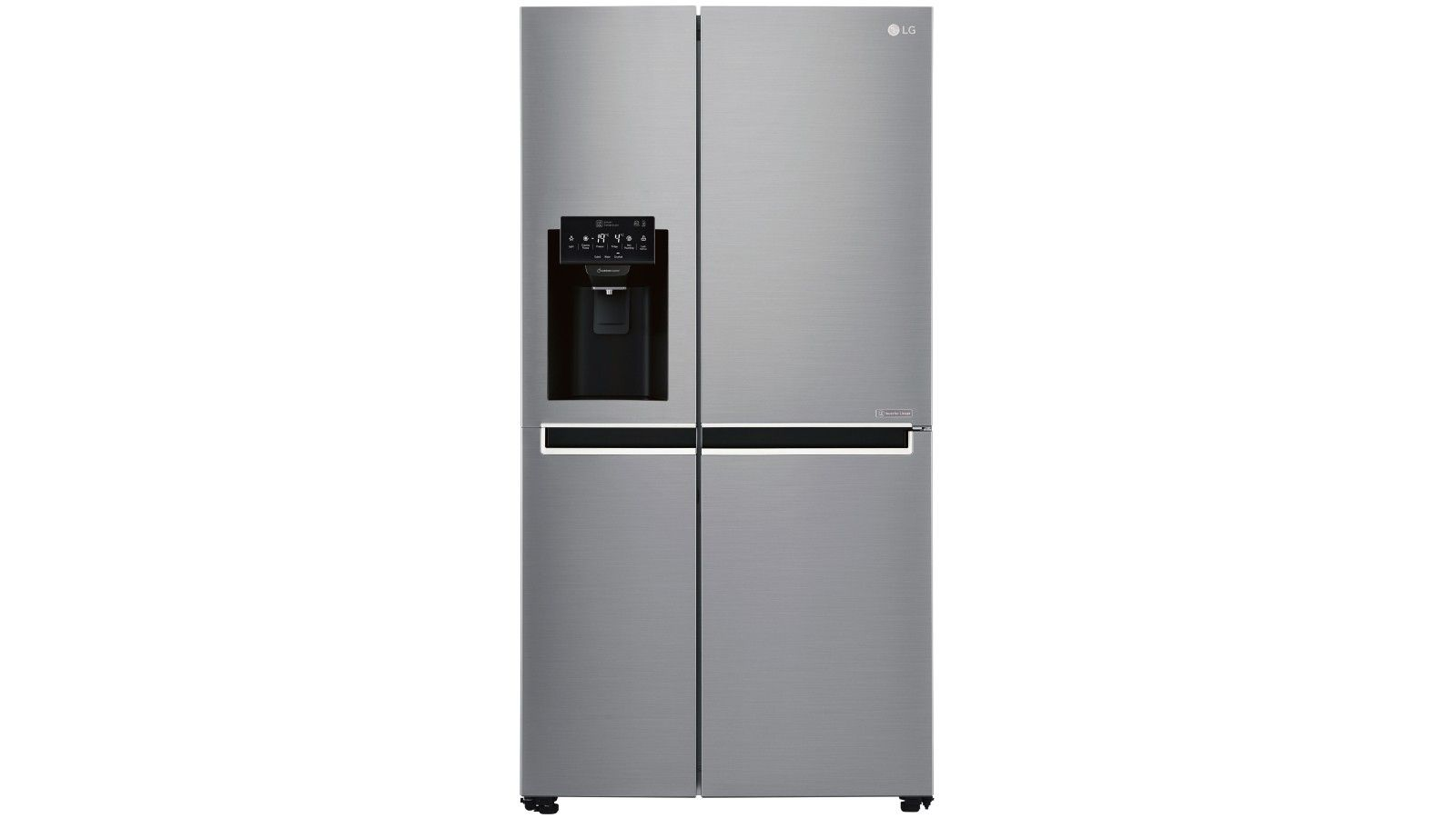 Lg 668l Side By Fridge With Non Plumbed Ice Water Dispenser