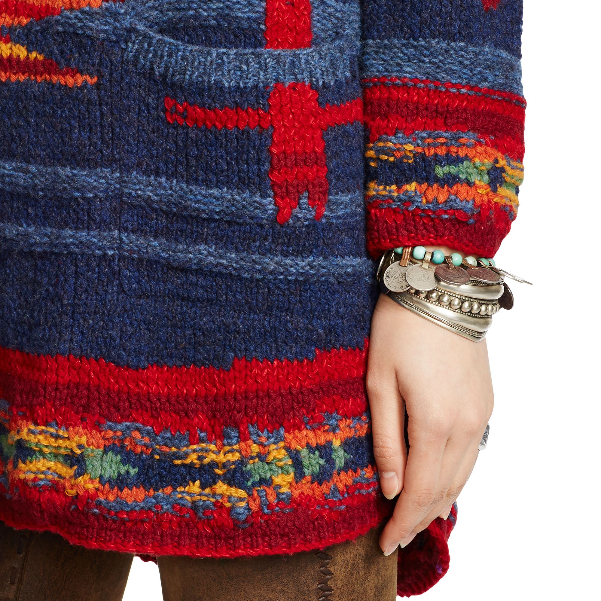 Southwestern Shawl Cardigan - Cardigans & Sweater Coats  Sweaters - RalphLauren.com