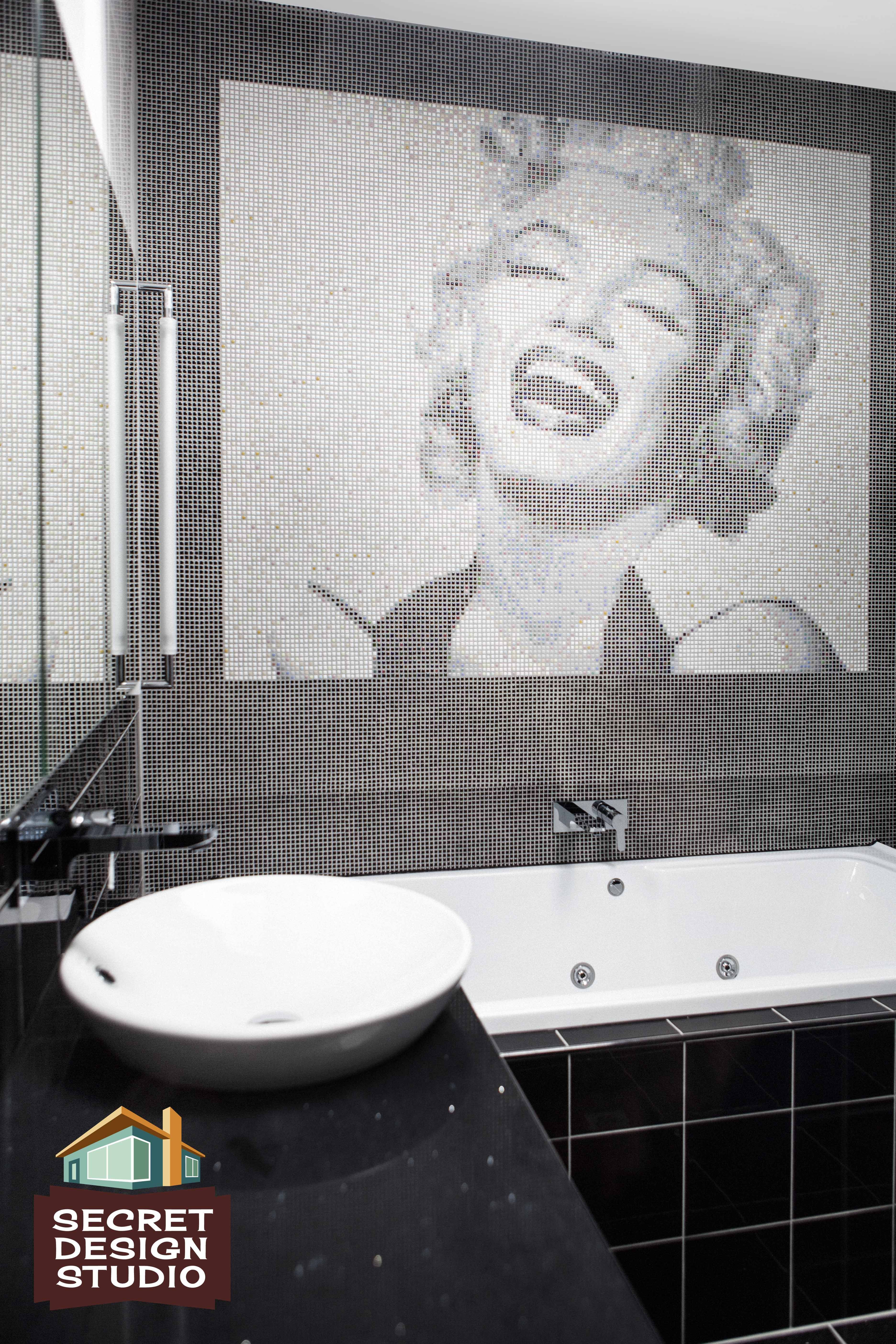 Marilyn\'s bathroom retrovation, recently completed by Secret Design ...