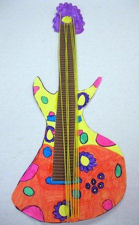 Artsonia Art Museum :: Artwork by Melina200 #musica #guitarra