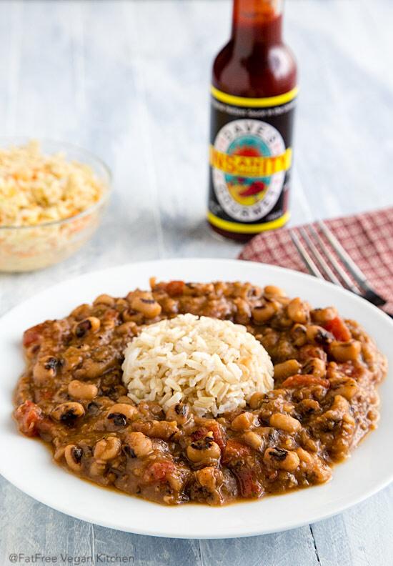 Creole Black-eyed Peas | FatFree Vegan Kitchen
